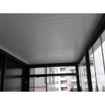 Алуминиева пергола - твърд покрив